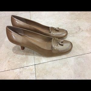 Stuart Weitzman Heels with Loafer Detail